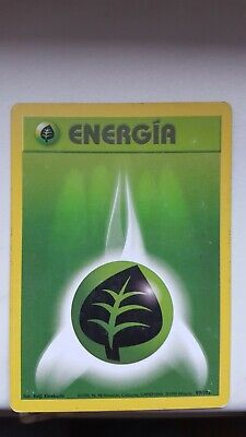 POKEMON SAMMELKARTE 99 102 ENERGIEKARTE PFLANZE BASIS DEUTSCH