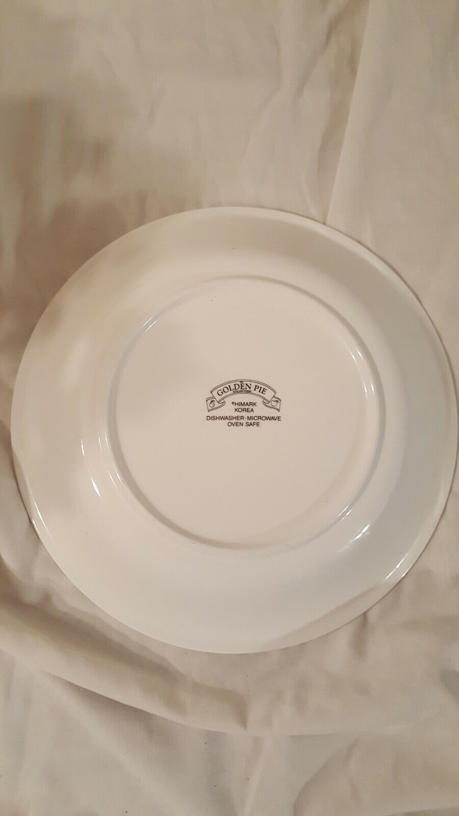 Plate With BLUEBERRY PIE Recipe On The Plate No Chips Or Cracks GREAT Condition  - $10.99
