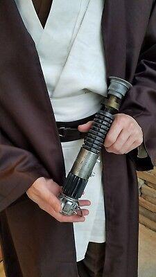 Obi Wan Kenobi Lightsaber Hilt Star Wars New Hope 1:1 Replica Prop K4