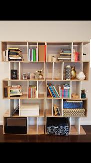 Display shelf x 2
