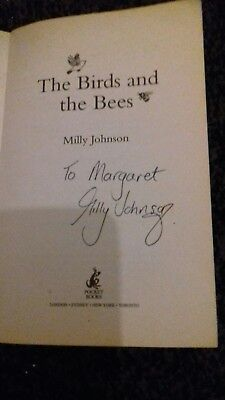 REDUCED!Birds and the Bees by Milly Johnson - signed by Author (Paperback, 2008) for sale  Shipping to South Africa