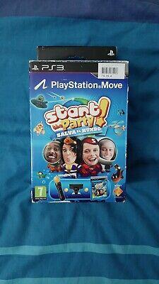 MOVE MANDO PS3 PACK CAMARA EYE NUEVO PLAYSTATION PAL ESP CONTROLLER MOTION...