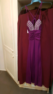 Ladies Purple Formal Dress