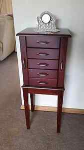 Jewelry Chest/ Cabinet Burra Queanbeyan Area Preview