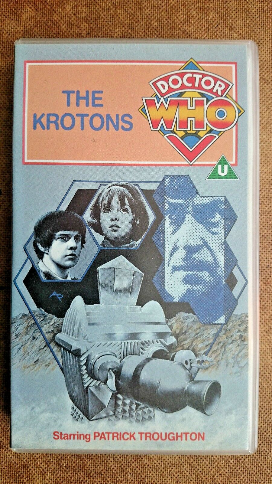 Doctor Who - The Krotons (VHS, 1995) - Patrick Troughton