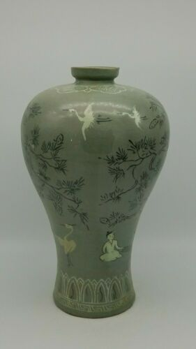 Korean Koryo Dynasty 12th to 14th Century  Vase