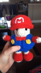 Hand made crochet kids toys and pillows
