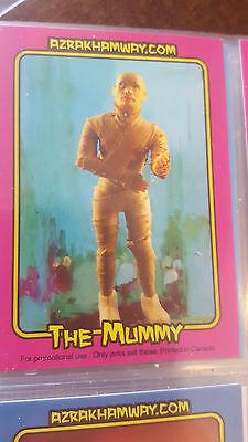 MEGO MUSEUM AZRAK-HAMWAY THE MUMMY MONSTER PROMO TRADING CARD # 4