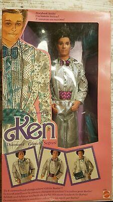 Vintage - Jewel Secrets Diamond Ken - Variant 1986 Mattel #1719 - Barbie NRFB