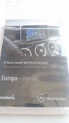Mercedes Benz Garmin Map Pilot SD Karte EUROPA V.9.0 2017/18 Audio Original  NEU Garmin Audio