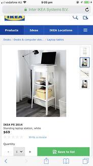 IKEA PS 2014 - Standing Station/Desk White