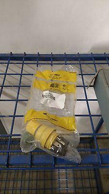Woodhead 14w47 Power Entry Plug 15a 125v