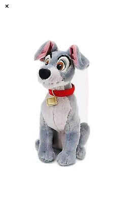 """Disney Tramp 16"""" Plush From Lady and the Tramp Stuffed Animal Toy NWT"""
