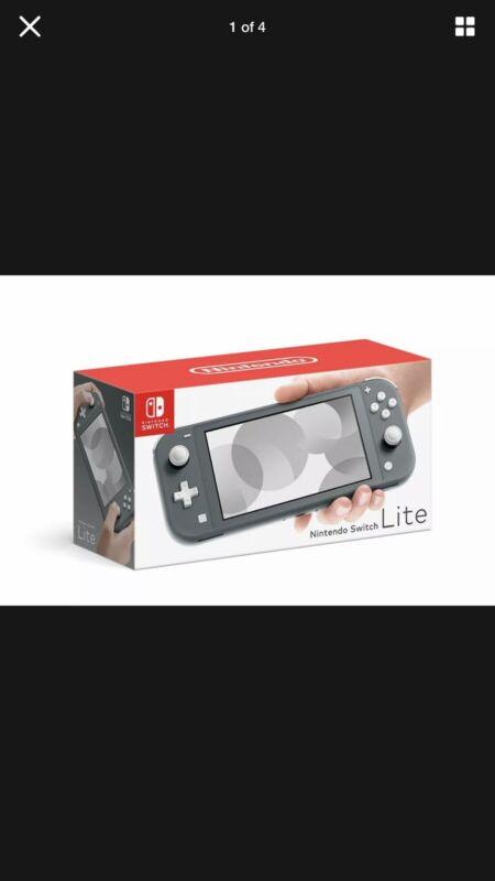 Brand+New+Nintendo+Switch+Lite+Handheld+Console+-+Grey+UK+Stock