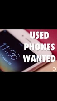 Wanted: SECOND HAND MOBILE PHONES WANTED