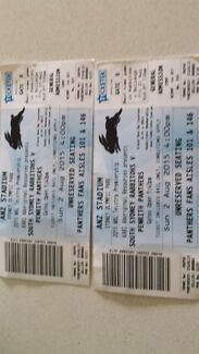 X2RABBITOHS VS PANTHERS $20 for both ANZ STADIUM Campsie Canterbury Area Preview