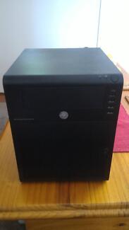 HP N40L Micro Server setup as NAS