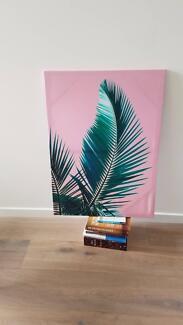 Pink Palm Tree, Tropical Wall Art Print