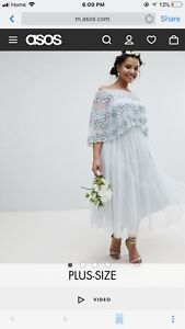 Plus Size Wedding/bridesmaid/special occasion dress