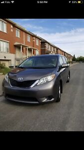 2011 Toyota Sienna 8 Passengers minivan for rent