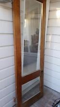 Cedar and glass door Mosman Mosman Area Preview