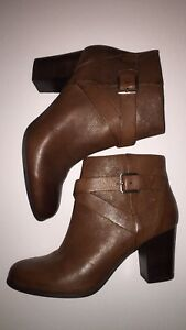 Brand new - Cole Haan leather booties, size 8.5