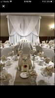 Backdrop and Chair Covers Rentals