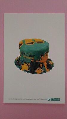 """Postcard """"HAT"""" Japanese Artist Noritake Kinashi Free Shipping from Japan"""