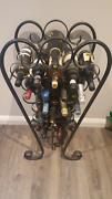 Wrought iron wine rack Officer Cardinia Area Preview