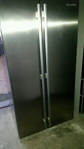 Westinghouse stainless steel side by side 606 litre