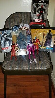 NO BOXES MARVEL LEGENDS CUSTOM SET LOT 5 DANGER BROOD XMEN NIGHT THRASHER SHURI