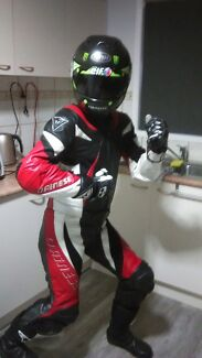 DAINESE 2PC LEATHER RACE SUIT