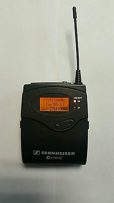 (Sennheiser EK 100 G3 Wireless Camera-Mount Receiver (D: 780-822 MHz) LIKE A NEW.)