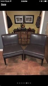 Sophisticated Dove-Grey Chairs Peterborough Peterborough Area image 1