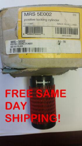 ENERPAC POSITIVE LOCKING CYLINDER MRS-5E002 ITEM #742835-J4