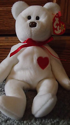 Valentino Beanie Baby - Retired with Misspelled Tag & Errors