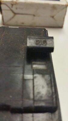 Square D Qou220 Circuit Breaker New In Box