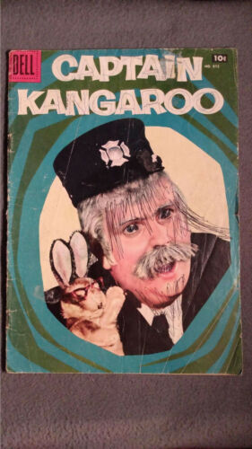 Captain Kangaroo #872 (1957)  FR/GD Dell Comics $4 Combined Ship
