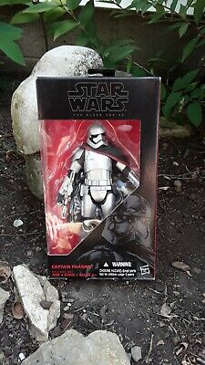 "Star Wars The Black Series Captain Phasma, used. 6"" figure, the force awakens."