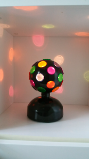 Colourful Disco Light Ball that can rotate