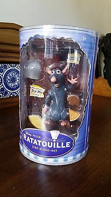 "NEW Disney Pixar RATATOUILLE: REMY 5 3/4"" TALKING ACTION FIGURE NIB"