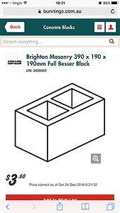WTB: Besser Blocks Bricks Raymond Terrace Port Stephens Area Preview
