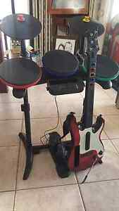 Wii  Guitar Hero and Accessories Gosnells Gosnells Area Preview