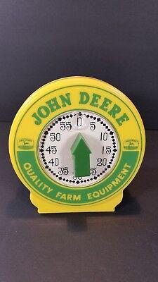 "John Deere Kitchen Timer Yellow Green Nostalgia 3.75"" Tall Sturdy Plastic"