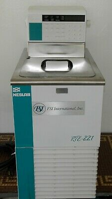 Thermo Neslab Rte-221 Refrigerated Bath Circulator. Heater Chiller Lab. Tested.