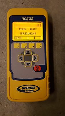 Spectra Precision Rc602 Remote Control For Gl622 Gl612 Slope Grade Laser Trimble