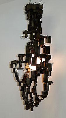 XXL Deckenlampe Deckenleuchte Design Loft Lampe Leuchte Unikat Eisen Handarbeit