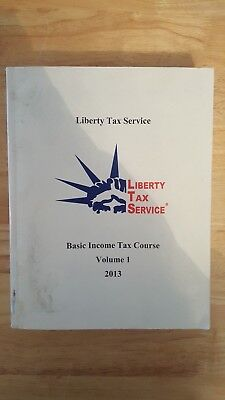 Liberty Tax Service Basic Income Tax Course Vol 1 2013 O