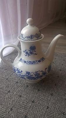 Teekanna Hennenberg Porzellan Ilmenau