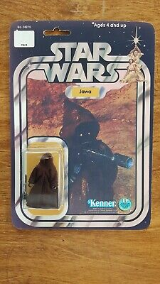 Star Wars Figurine Kenner Retro Jawa original, boite de reproduction